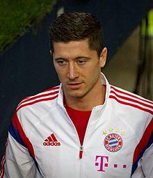 Robert Lewandowski v Bayernu Mnichov (2014)