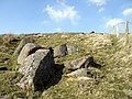 Rocks at Flint Crag below St David's Cairn - geograph.org.uk - 1213929.jpg