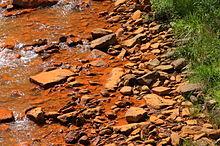 Acid mine drainage - Wikipedia