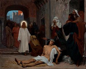 """Study for """"Jesus in Capernaum"""""""