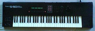 Roland S-50 Sampler Keyboard