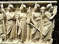 Roman sarcophagus (detail), Rome, 240-260 CE - Nelson-Atkins Museum of Art - DSC08219.JPG