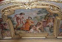 Romulus et Rémus par Romanelli.