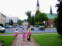 Ropczyce Town Centre