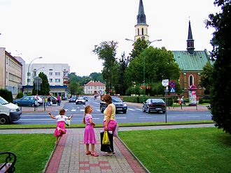 Ropczyce - Ropczyce Town Centre
