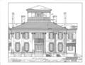 Rosemount, County Road 19, Forkland, Greene County, AL HABS ALA,32-FORK.V,1- (sheet 5 of 16).png