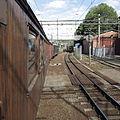 Roslagsbanan vintage train near Stockholms östra.JPG
