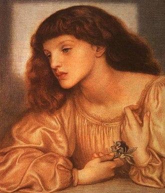 May Morris - May Morris, 1872, by Dante Gabriel Rossetti.