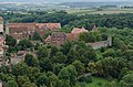 Rothenburg ob der Tauber, Spitalhof, Stadtmauer, 08-2014-001.jpg