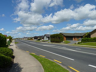 Rototuna Suburb in Hamilton, New Zealand