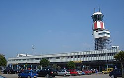 Rotterdam airport entrance.jpg