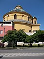 Round church in Esztergom, Hungary.jpg