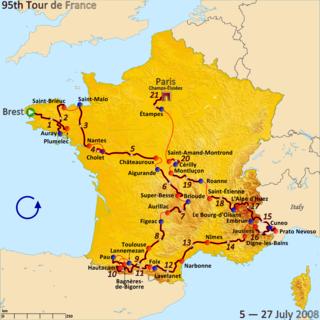 2008 Tour de France cycling race