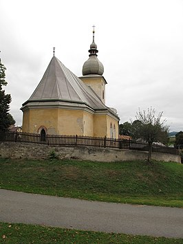 Rovná (Pelhřimov District), kostel sv. Martina II.jpg