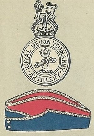 Royal Devon Yeomanry - Badge of the Royal Devon Yeomanry