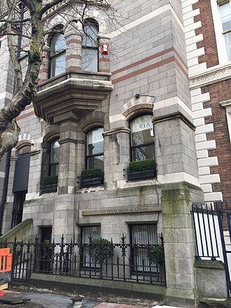 Royal Irish Academy - Royal Irish Academy building on Dawson St