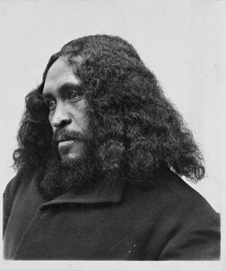 Ngāi Tūhoe - Tūhoe prophet Rua Kenana in 1908