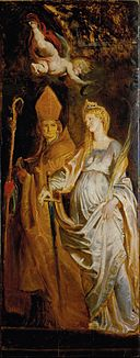 Rubens, Sir Peter Paul - Saints Amandus and Walburga; Saints Catherine of Alexandria and Eligius - Google Art Project.jpg