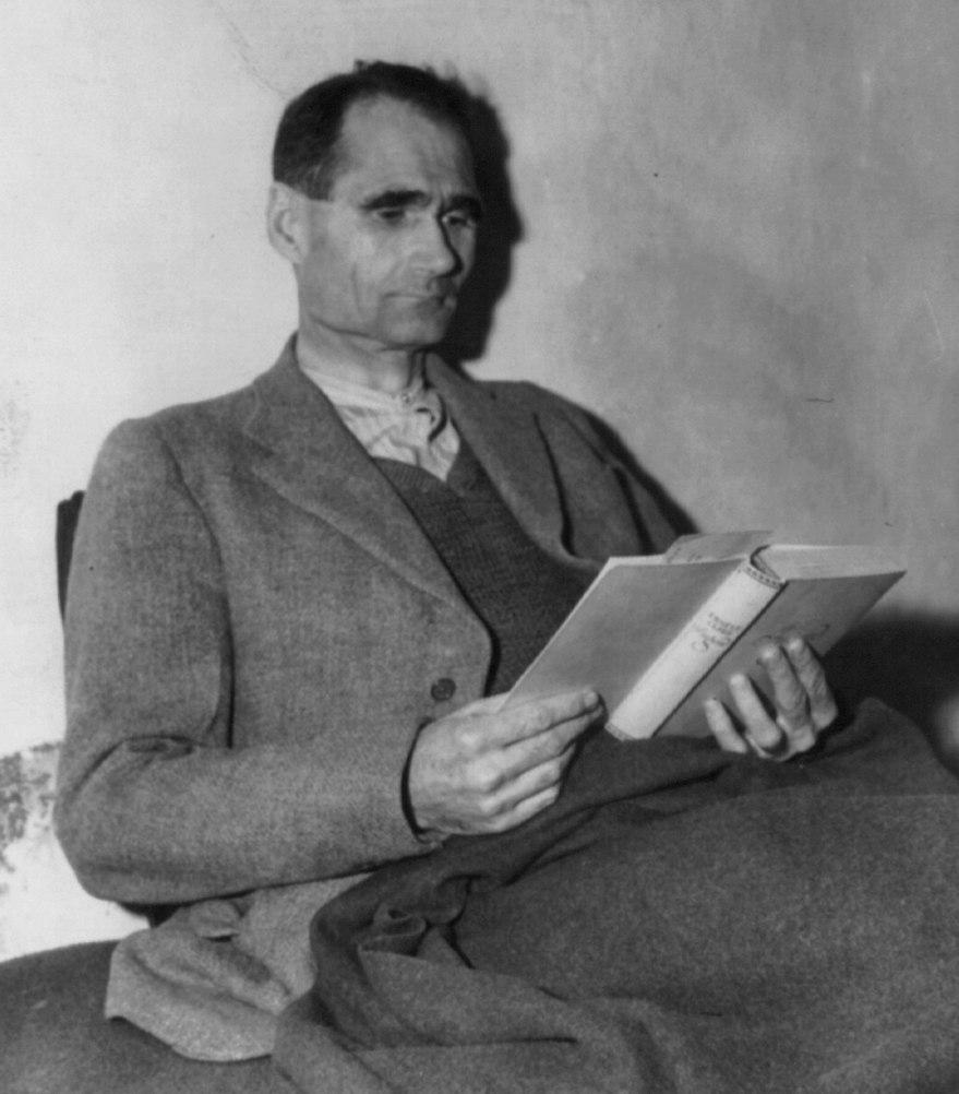 Rudolf Hess in Landsberg Prison