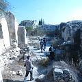 Ruins of Belmont Crusader Fortress on Tel Tzova, Israel.jpg