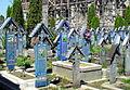 Rumunia, Sapanta, Wesoły Cmentarz -Aw58- 28.04.12 r..JPG