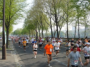 Paris Marathon - The public race in 2007