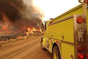Rush Fire - Image: Rush fire BLM