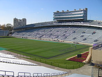 Ryan Field, Northwestern's 49,000 seat footbal...