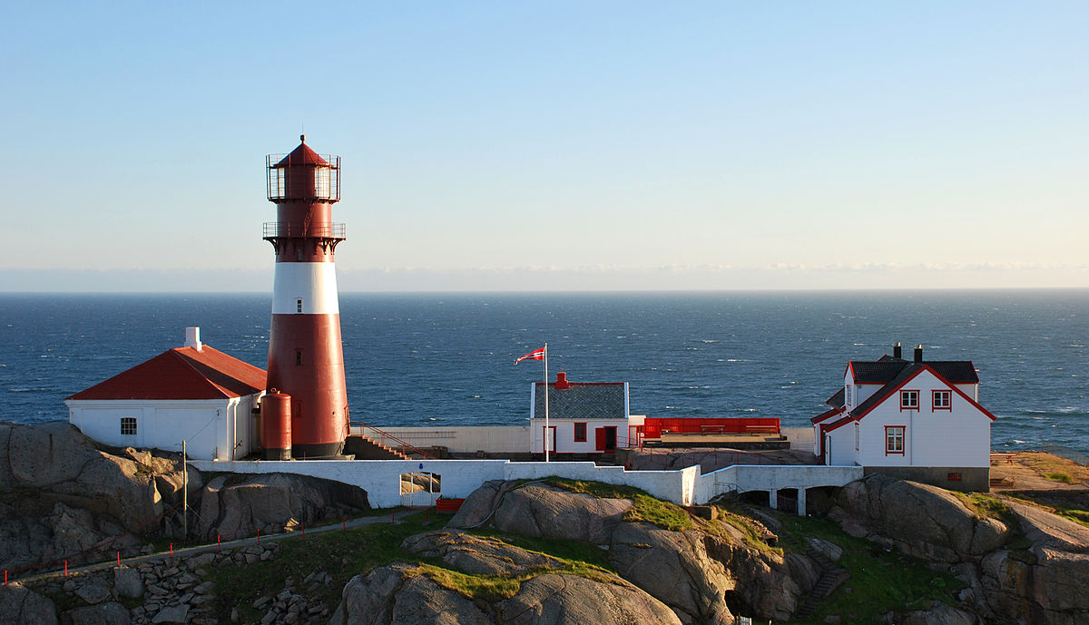 Ryvingen Lighthouse Wikipedia - Norway lighthouses map
