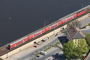 Dresden S-Bahn - S-Bahn service in Königstein