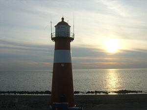 Westkapelle, Netherlands - Short lighthouse of Westkapelle