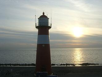 Westkapelle, Netherlands - Short lighthouse of Westkapelle