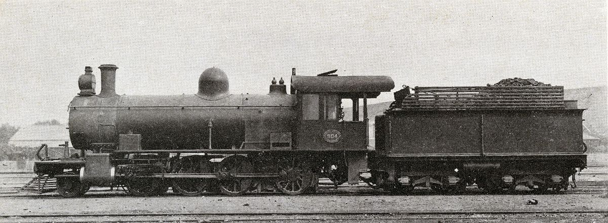 2 8 0 Consolidation Type Locomotives: South African Class 8Z 2-8-0