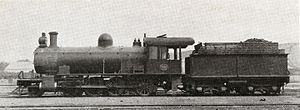 1904 in South Africa - SAR Class 8Z