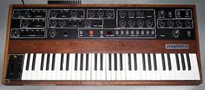 Synthesizer - The Prophet-5 synthesizer of the late 1970s-early 1980s.