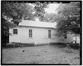 SHOT GUN HOUSE, EXTERIOR EAST. - 355 Third Street (House), Thomas, Jefferson County, AL HAER ALA,37-THOS,5-4.tif