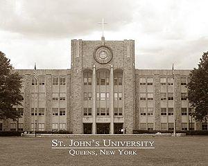 St. Augustine Library at St. John's University...