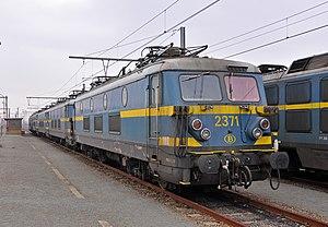 La Brugeoise et Nivelles - Image: SNCB Loc 2371 R02