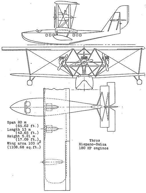 SPCA 63 3-view NACA Aircraft Circular No.41