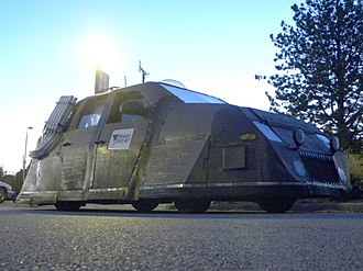 """Storm Chasers (TV series) - The SRV """"Dominator"""", featured in the Discovery Channel series, Storm Chasers."""