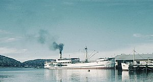 Tanzania Ports Authority - SS Usoga at Mwanza Port in 1959