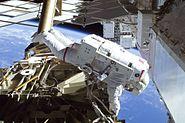 STS-129 EVA1 Michael Foreman 3