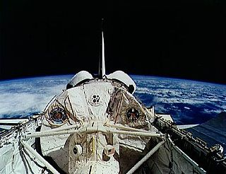 STS-55 flight of the US Space Shuttle in 1993