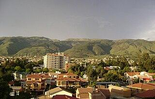 Sacaba City and Municipality in Cochabamba Department, Bolivia