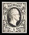 Sachsen 1851 3 Friedrich August II.jpg