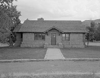 Saddlehorn Caretakers House and Garage United States historic place