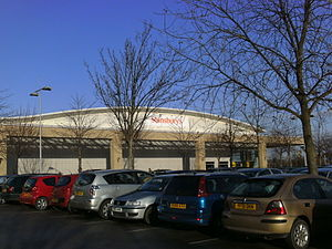 SavaCentre - The former Sainsbury's SavaCentre at the White Rose Centre in Leeds.