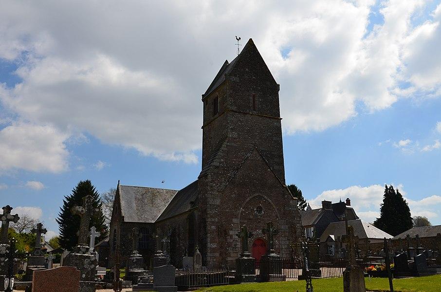 Église Saint-Aubin de Saint-Aubin-des-Bois.