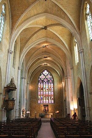 Église Saint-Jean-de-Malte - Interior of Saint-Jean-de-Malte