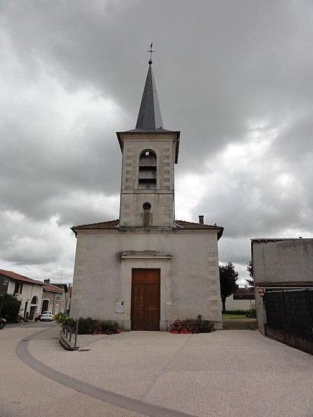 Saint-Remimont (M-et-M) église
